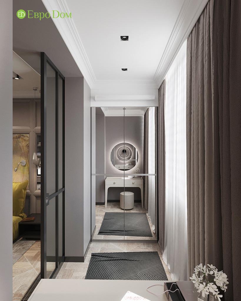 Дизайн 2-комнатной квартиры 64 кв. м в стиле ар-деко. Фото 016