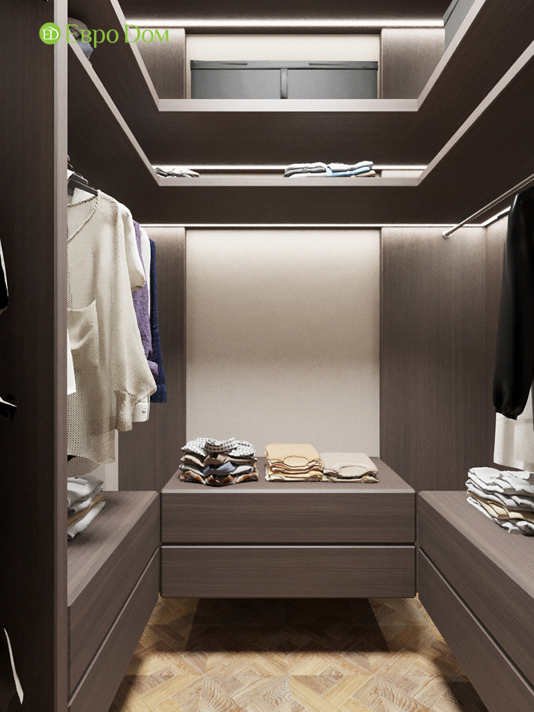 Дизайн 2-комнатной квартиры 64 кв. м в стиле ар-деко. Фото 018