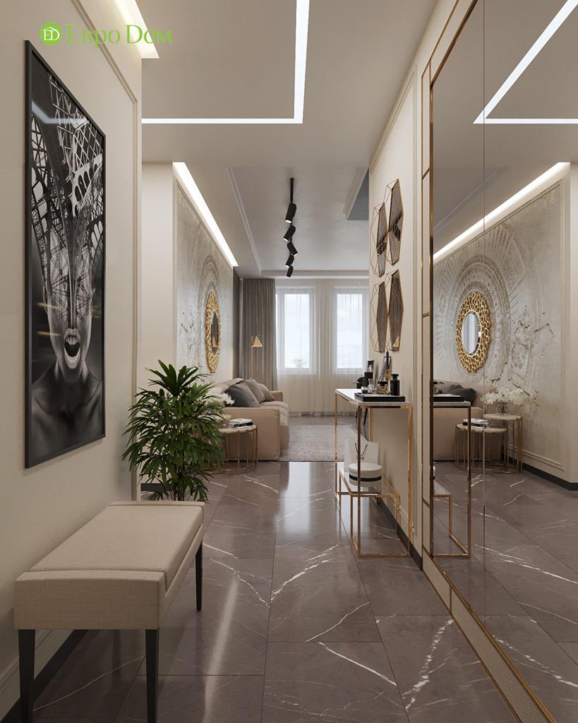 Дизайн 2-комнатной квартиры 64 кв. м в стиле ар-деко. Фото 022