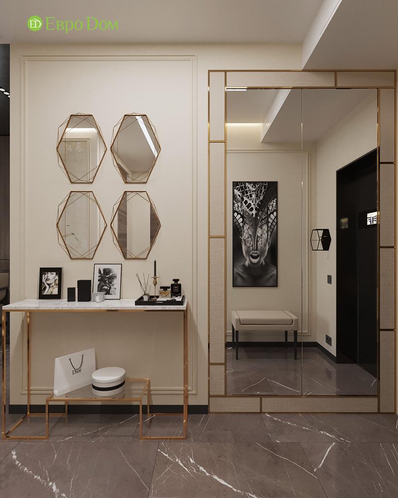 Дизайн 2-комнатной квартиры 64 кв. м в стиле ар-деко. Фото 023