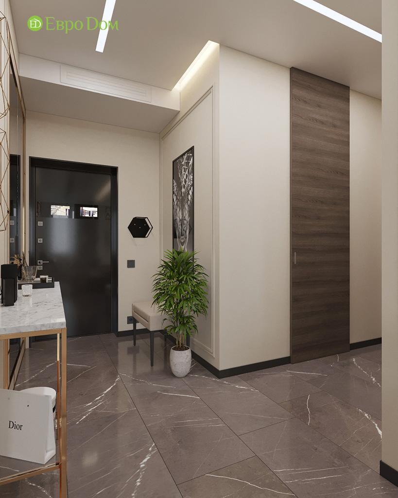 Дизайн 2-комнатной квартиры 64 кв. м в стиле ар-деко. Фото 024