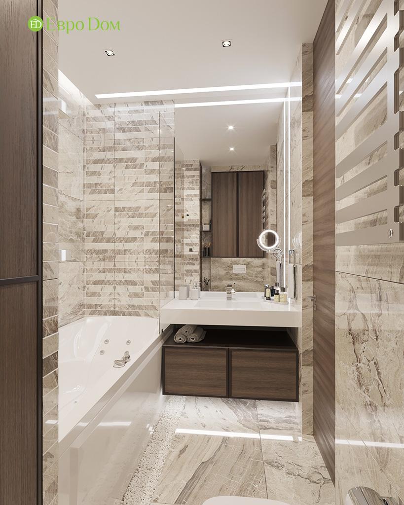 Дизайн 2-комнатной квартиры 64 кв. м в стиле ар-деко. Фото 025