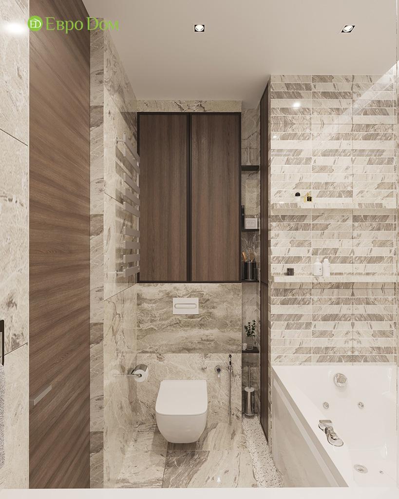 Дизайн 2-комнатной квартиры 64 кв. м в стиле ар-деко. Фото 027