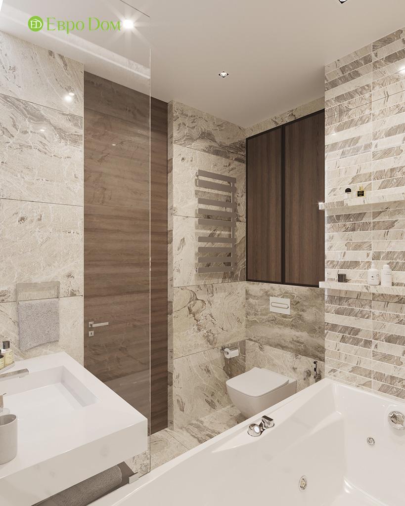 Дизайн 2-комнатной квартиры 64 кв. м в стиле ар-деко. Фото 028