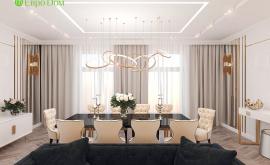 Дизайн интерьера четырехкомнатной квартиры 209 кв.м. по адресу г. Махачкала. Фото 1