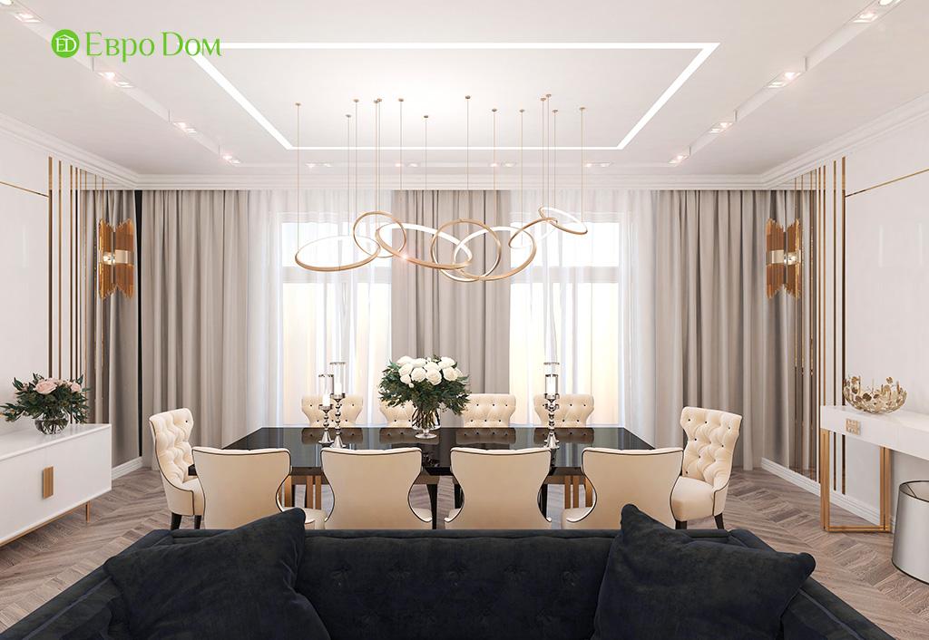 Дизайн 4-комнатной квартиры в стиле ар-деко. Фото 03