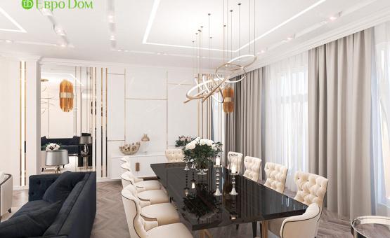 Дизайн интерьера четырехкомнатной квартиры 209 кв.м. по адресу г. Махачкала. Фото 2