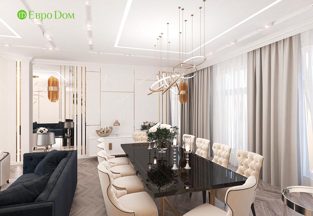 Дизайн 4-комнатной квартиры в стиле ар-деко. Фото 04