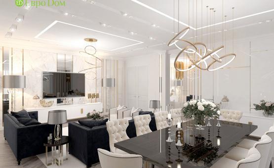 Дизайн интерьера четырехкомнатной квартиры 209 кв.м. по адресу г. Махачкала. Фото 3