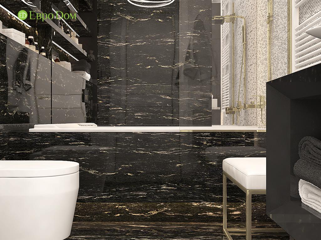 Дизайн 4-комнатной квартиры в стиле ар-деко. Фото 011
