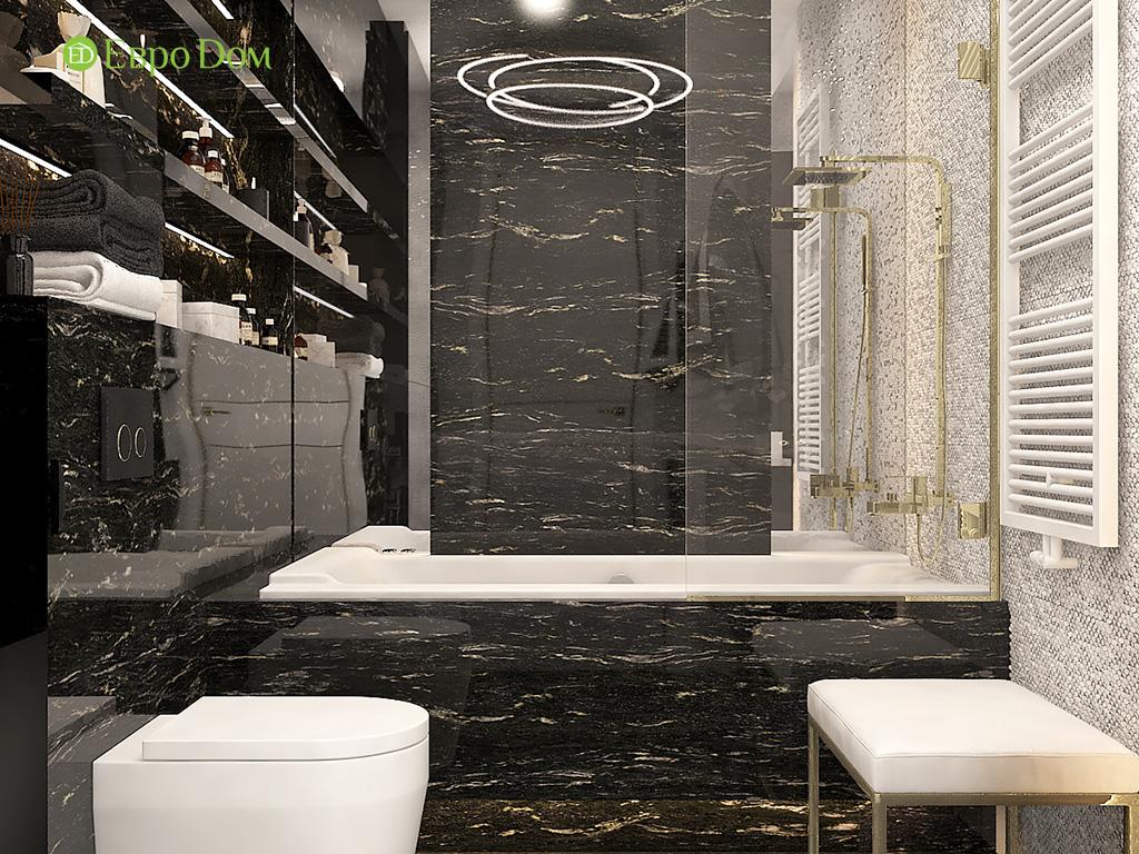Дизайн 4-комнатной квартиры в стиле ар-деко. Фото 012