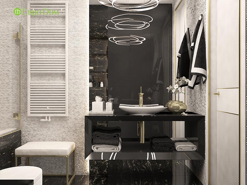 Дизайн 4-комнатной квартиры в стиле ар-деко. Фото 013