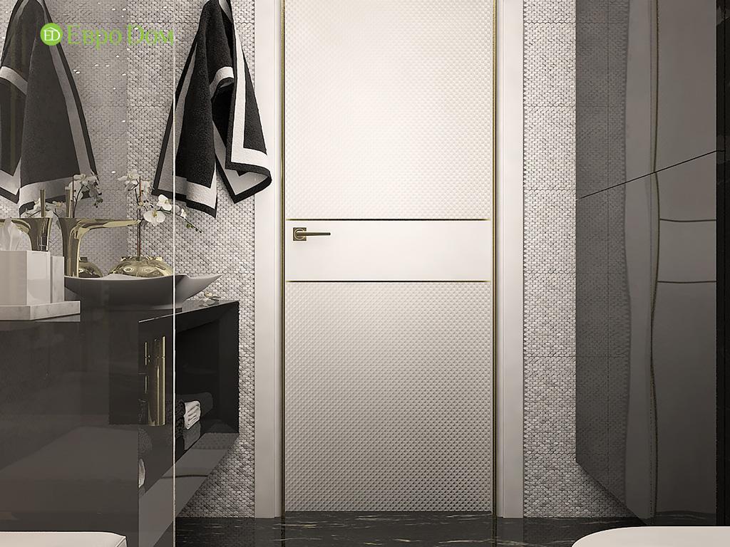 Дизайн 4-комнатной квартиры в стиле ар-деко. Фото 014