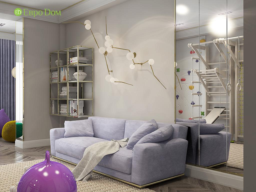 Дизайн 4-комнатной квартиры в стиле ар-деко. Фото 016