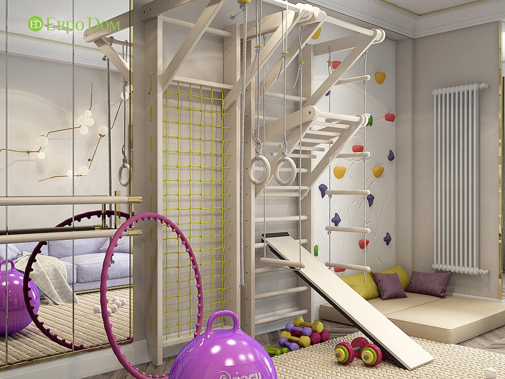 Дизайн 4-комнатной квартиры в стиле ар-деко. Фото 017