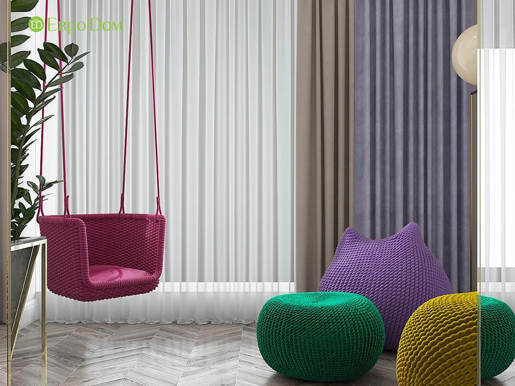 Дизайн 4-комнатной квартиры в стиле ар-деко. Фото 018