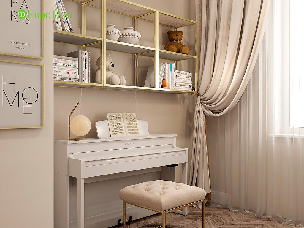 Дизайн 4-комнатной квартиры в стиле ар-деко. Фото 020