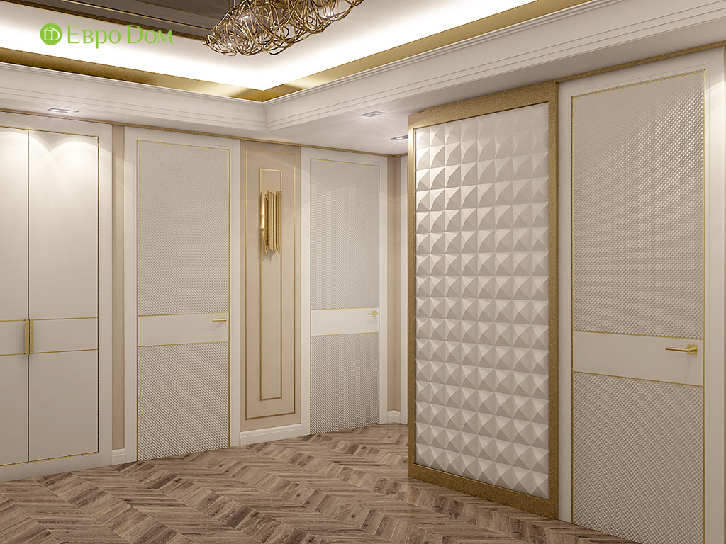Дизайн 4-комнатной квартиры в стиле ар-деко. Фото 027