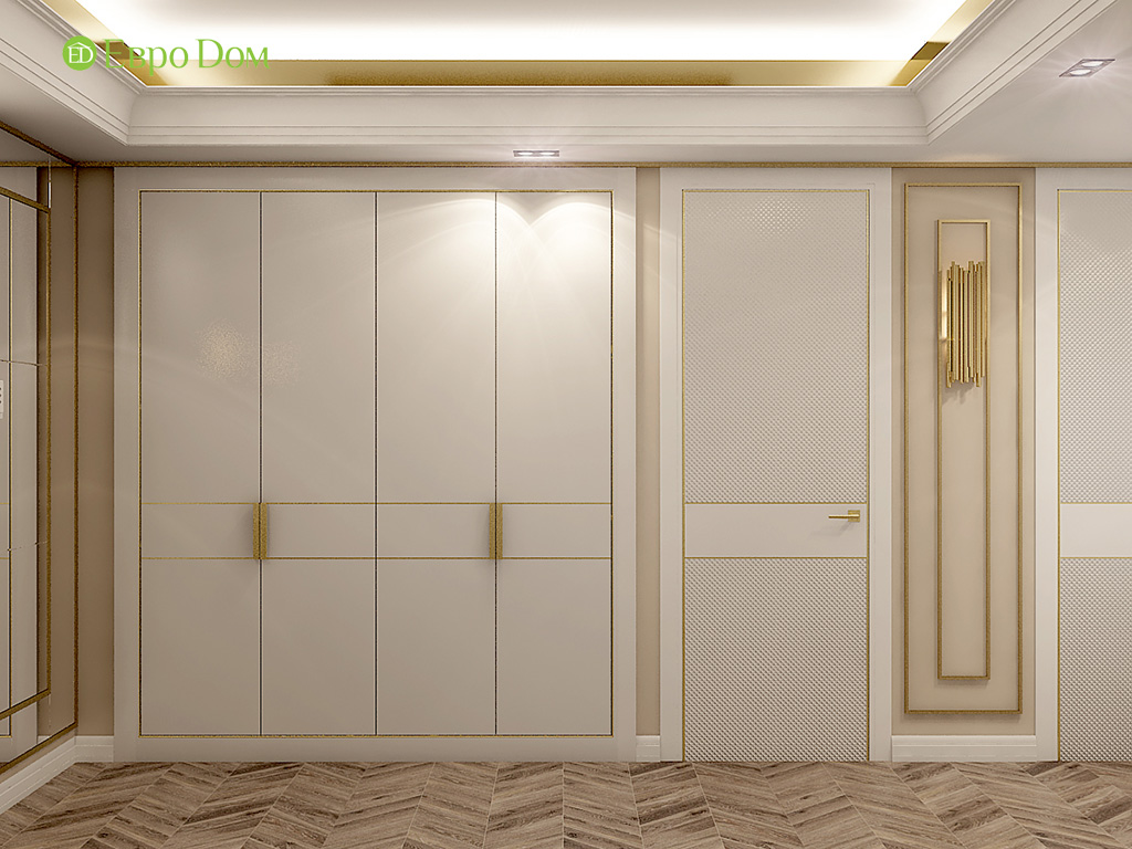 Дизайн 4-комнатной квартиры в стиле ар-деко. Фото 033