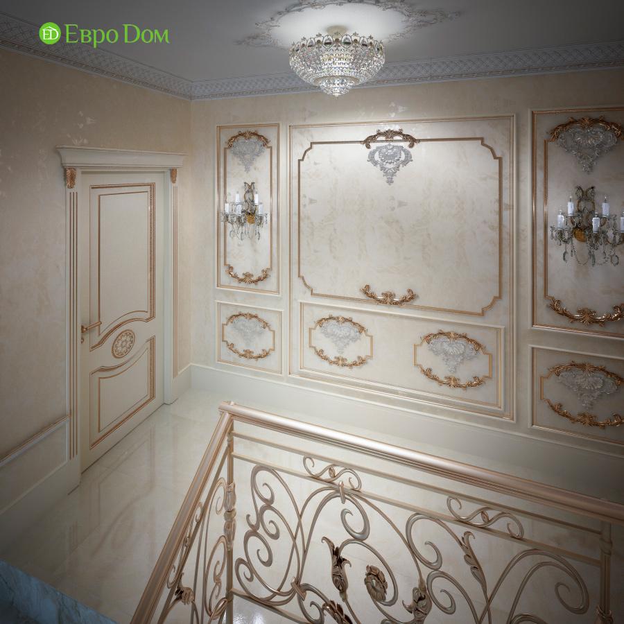 Дизайн интерьера коттеджа 251 кв. м в стиле барокко. Фото 05