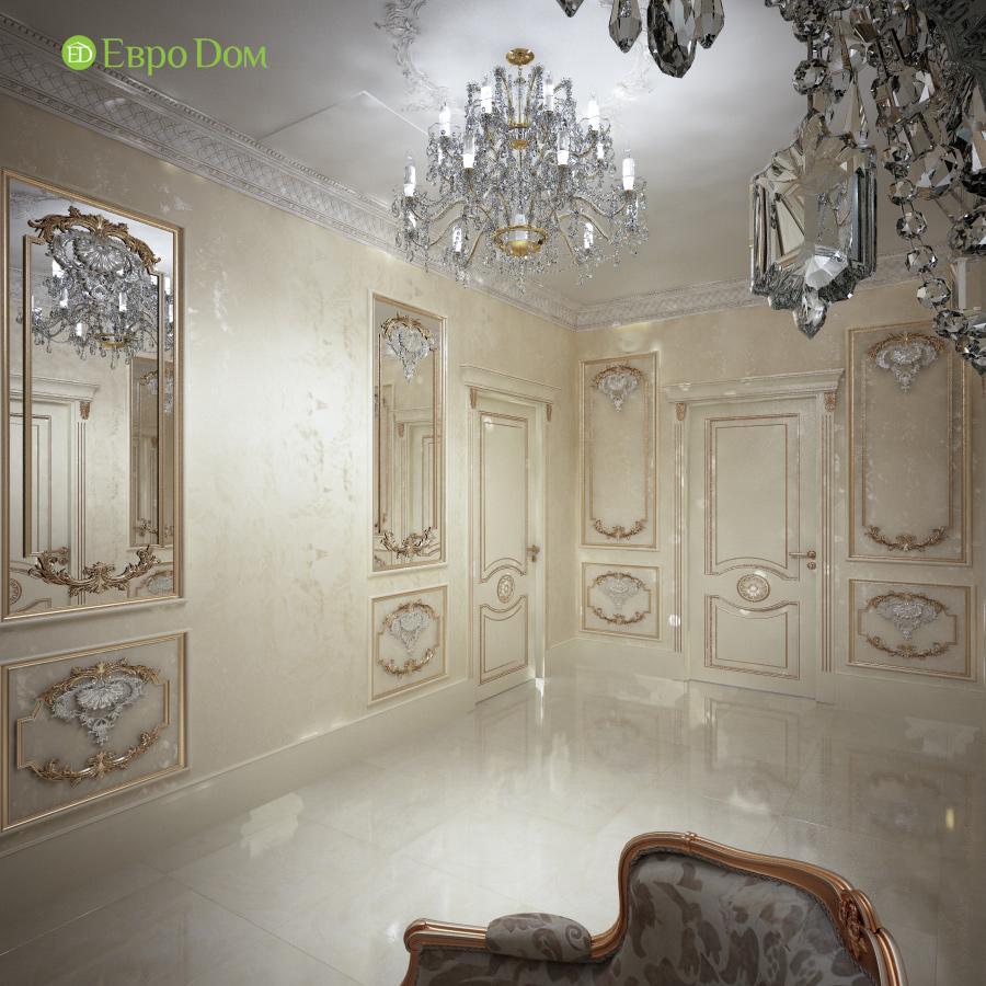 Дизайн интерьера коттеджа 251 кв. м в стиле барокко. Фото 06