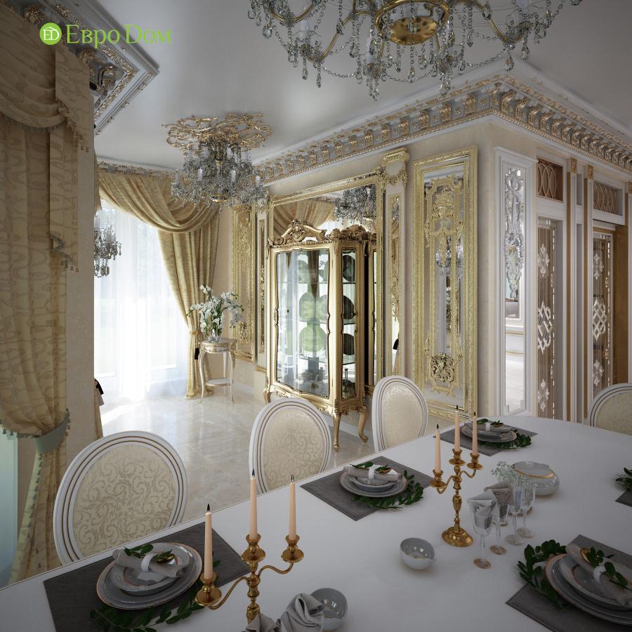 Дизайн интерьера коттеджа 251 кв. м в стиле барокко. Фото 010
