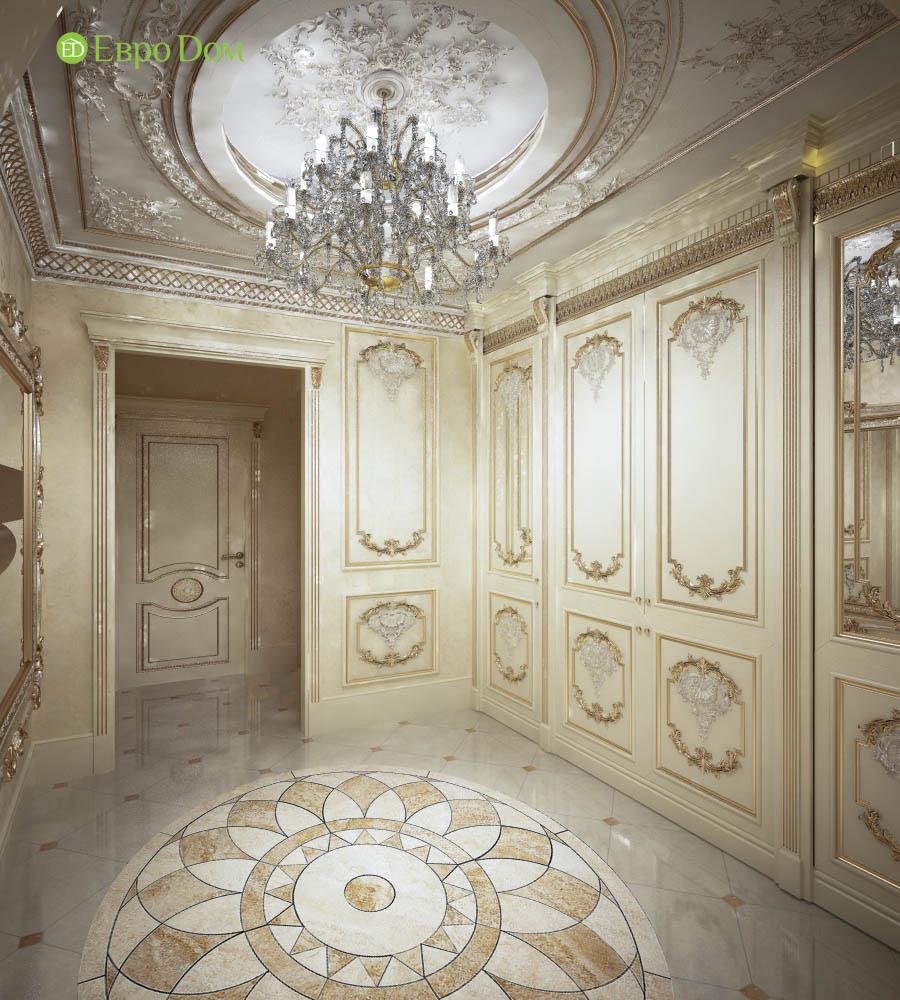 Дизайн интерьера коттеджа 251 кв. м в стиле барокко. Фото 018
