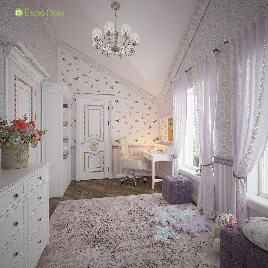 Дизайн интерьера коттеджа 251 кв. м в стиле барокко. Фото 019