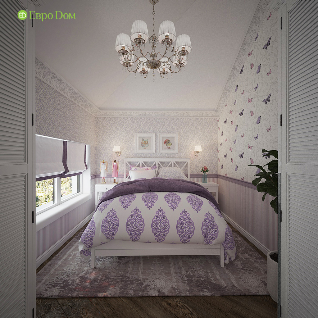 Дизайн интерьера коттеджа 251 кв. м в стиле барокко. Фото 020