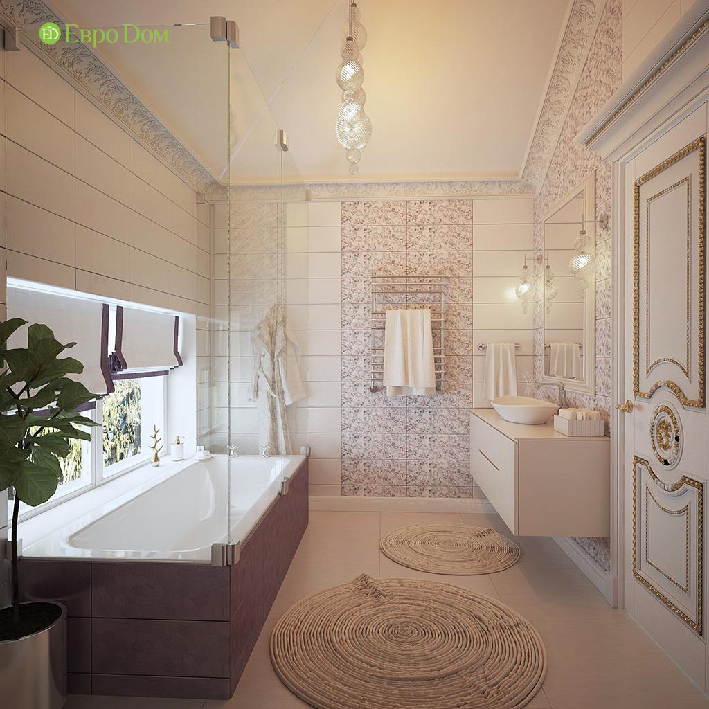Дизайн интерьера коттеджа 251 кв. м в стиле барокко. Фото 022