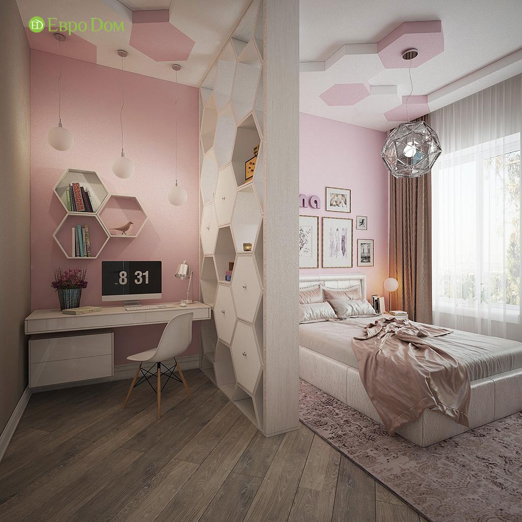 Дизайн интерьера коттеджа 251 кв. м в стиле барокко. Фото 024