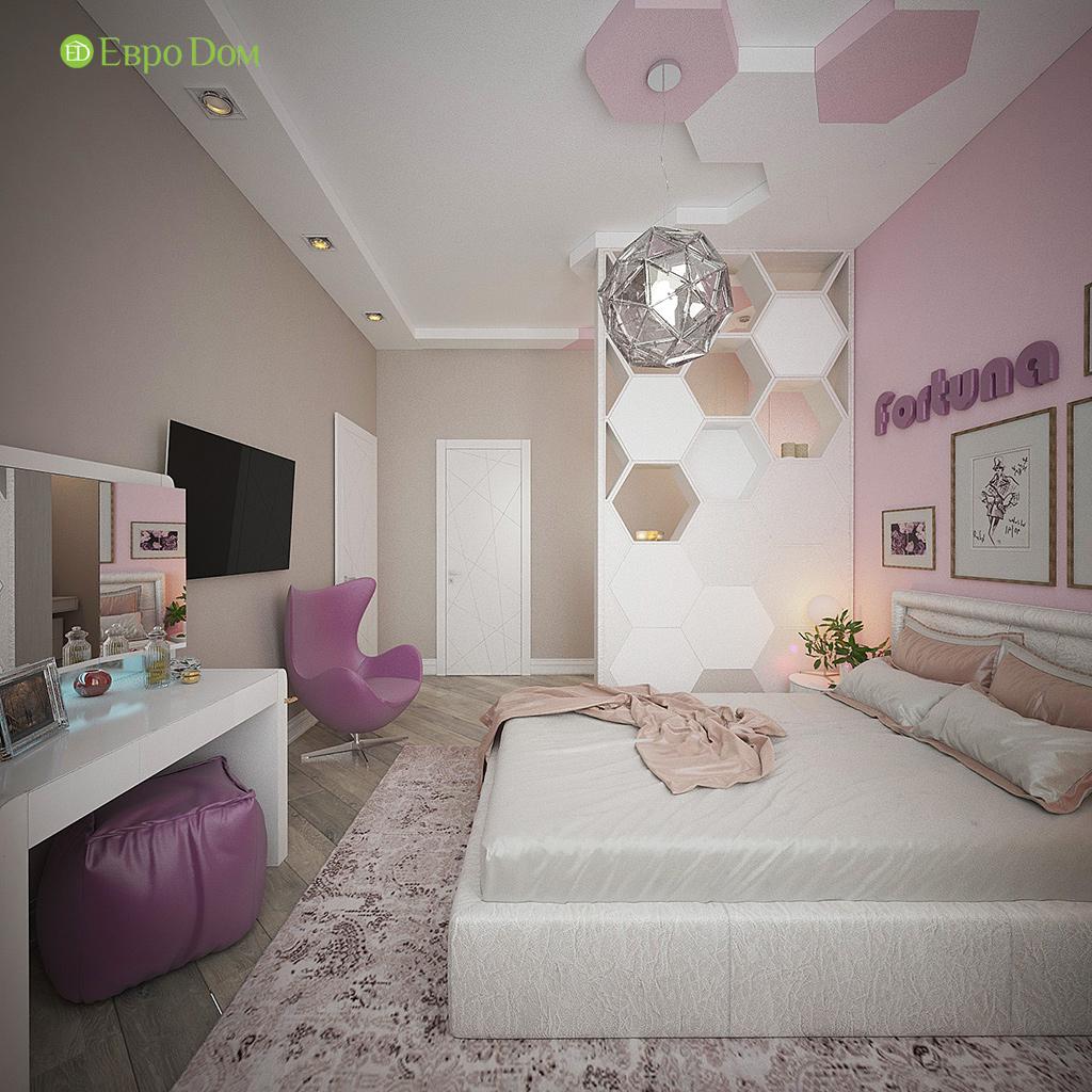 Дизайн интерьера коттеджа 251 кв. м в стиле барокко. Фото 025