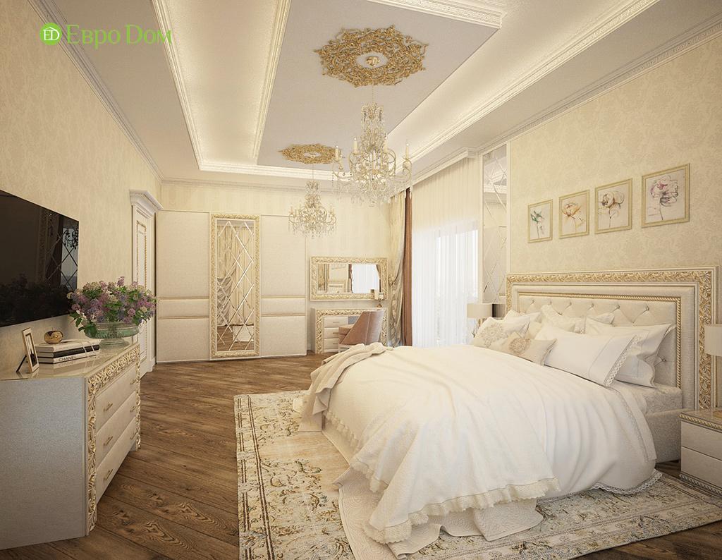 Дизайн интерьера коттеджа 251 кв. м в стиле барокко. Фото 030