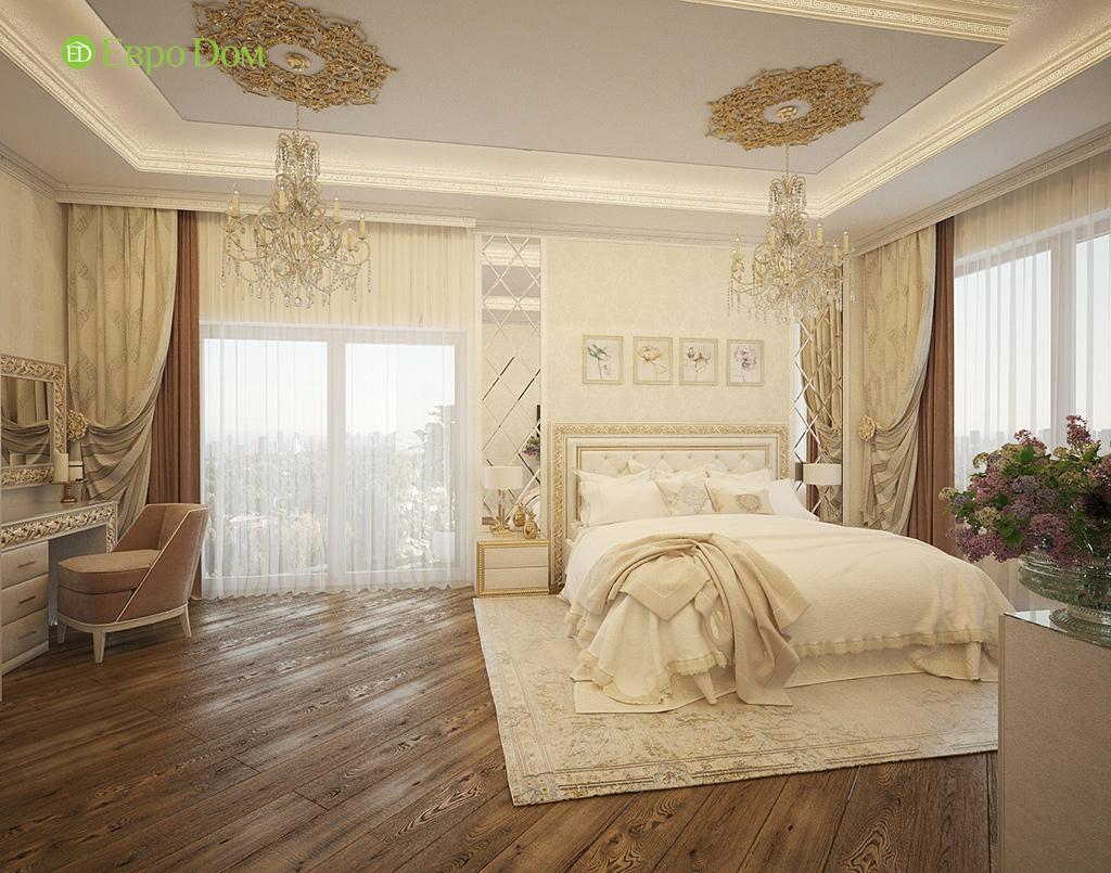 Дизайн интерьера коттеджа 251 кв. м в стиле барокко. Фото 031