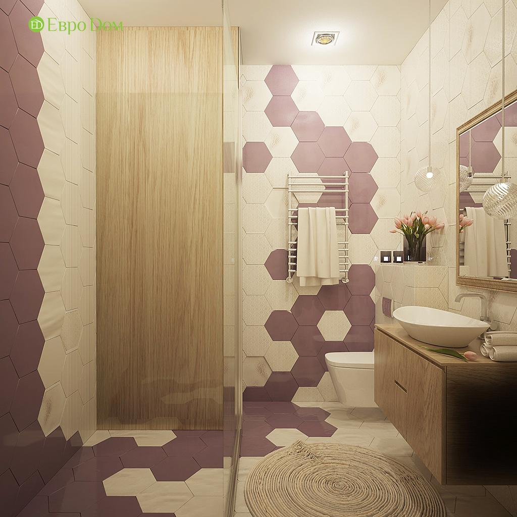Дизайн интерьера коттеджа 251 кв. м в стиле барокко. Фото 033