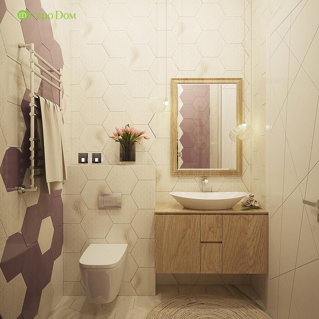 Дизайн интерьера коттеджа 251 кв. м в стиле барокко. Фото 034