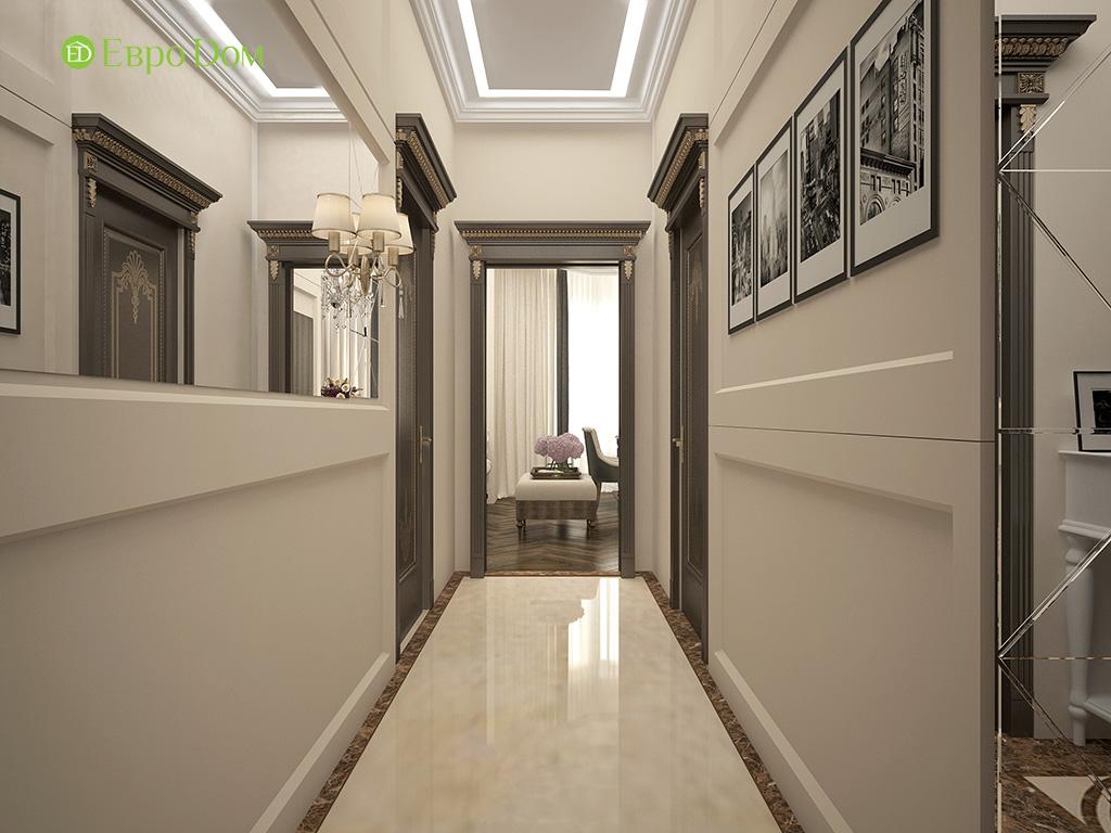 Дизайн 3-комнатной квартиры в современном стиле. Фото 02