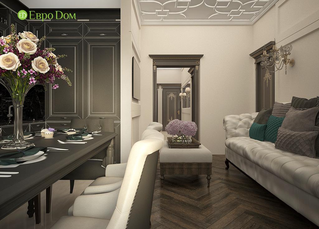 Дизайн 3-комнатной квартиры в современном стиле. Фото 05