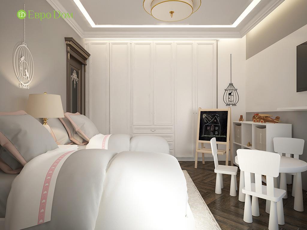 Дизайн 3-комнатной квартиры в современном стиле. Фото 011