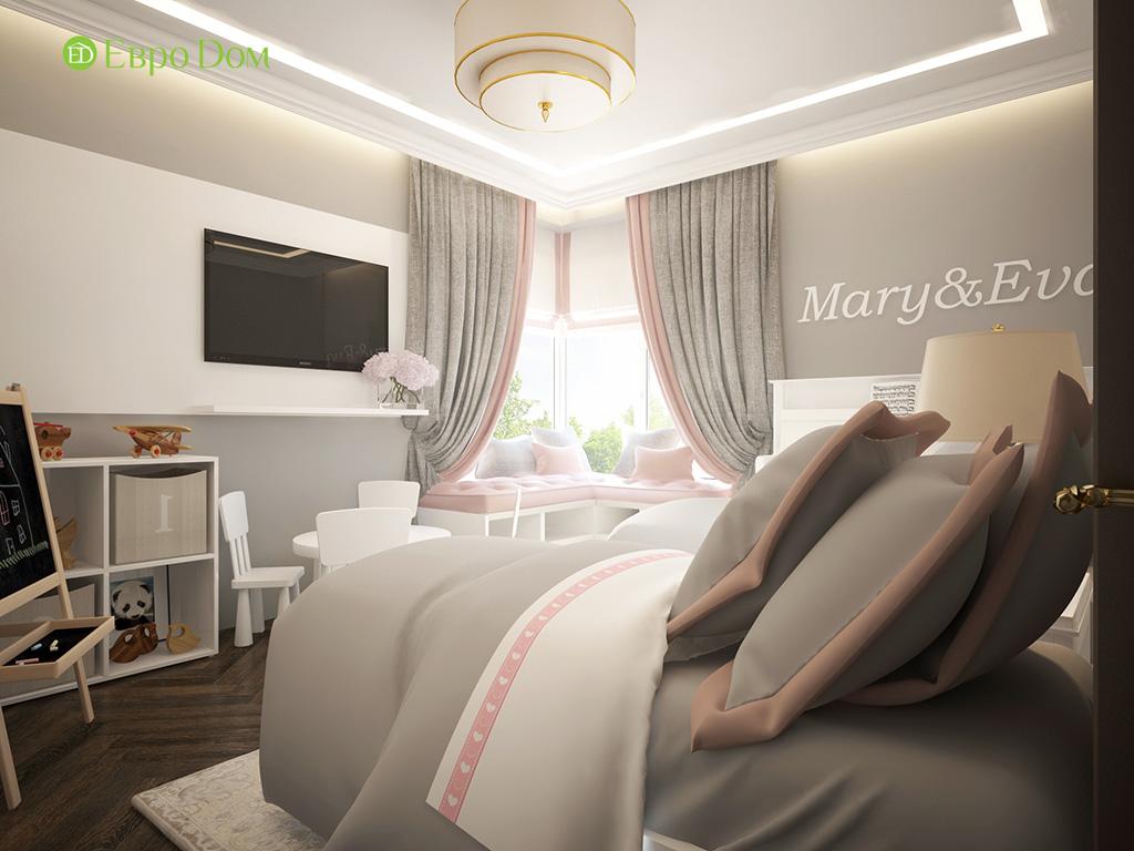 Дизайн 3-комнатной квартиры в современном стиле. Фото 012