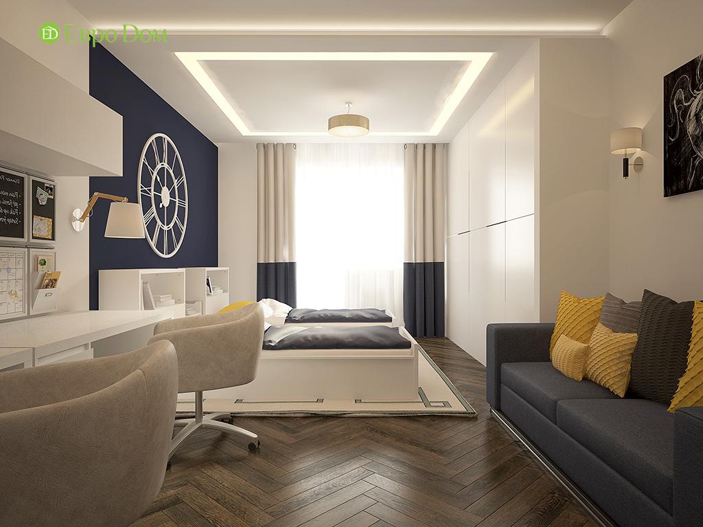 Дизайн 3-комнатной квартиры в современном стиле. Фото 013