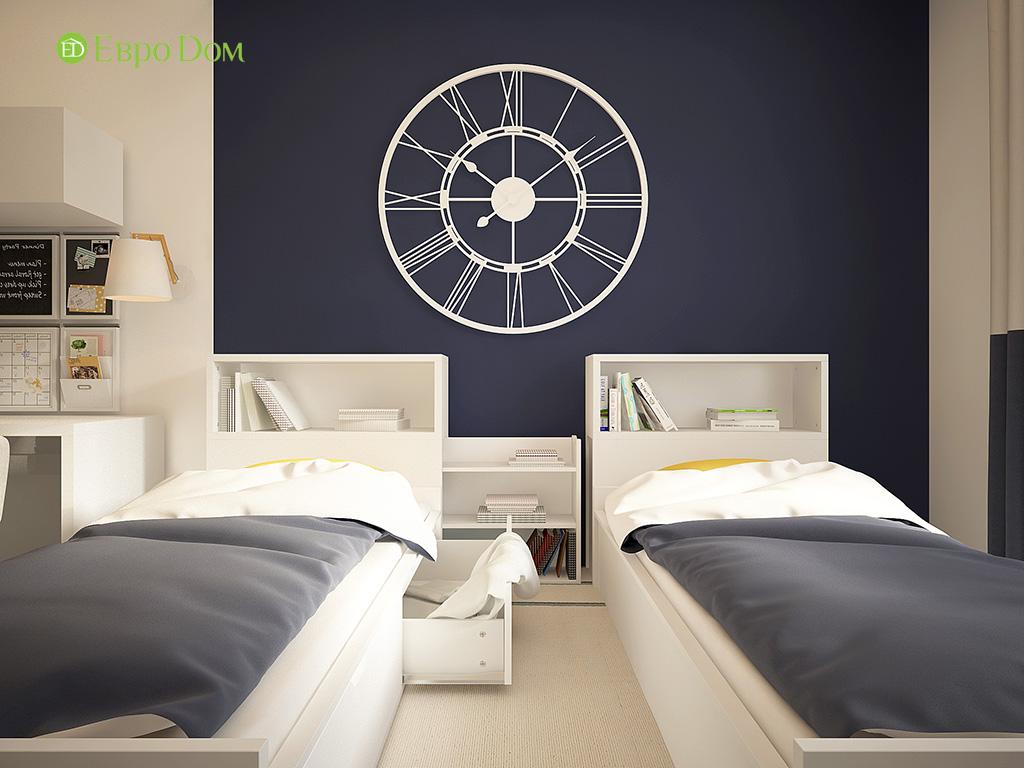 Дизайн 3-комнатной квартиры в современном стиле. Фото 014