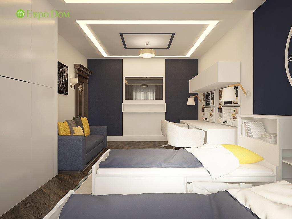 Дизайн 3-комнатной квартиры в современном стиле. Фото 015