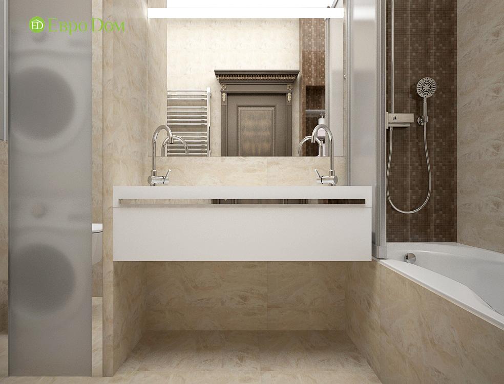 Дизайн 3-комнатной квартиры в современном стиле. Фото 017