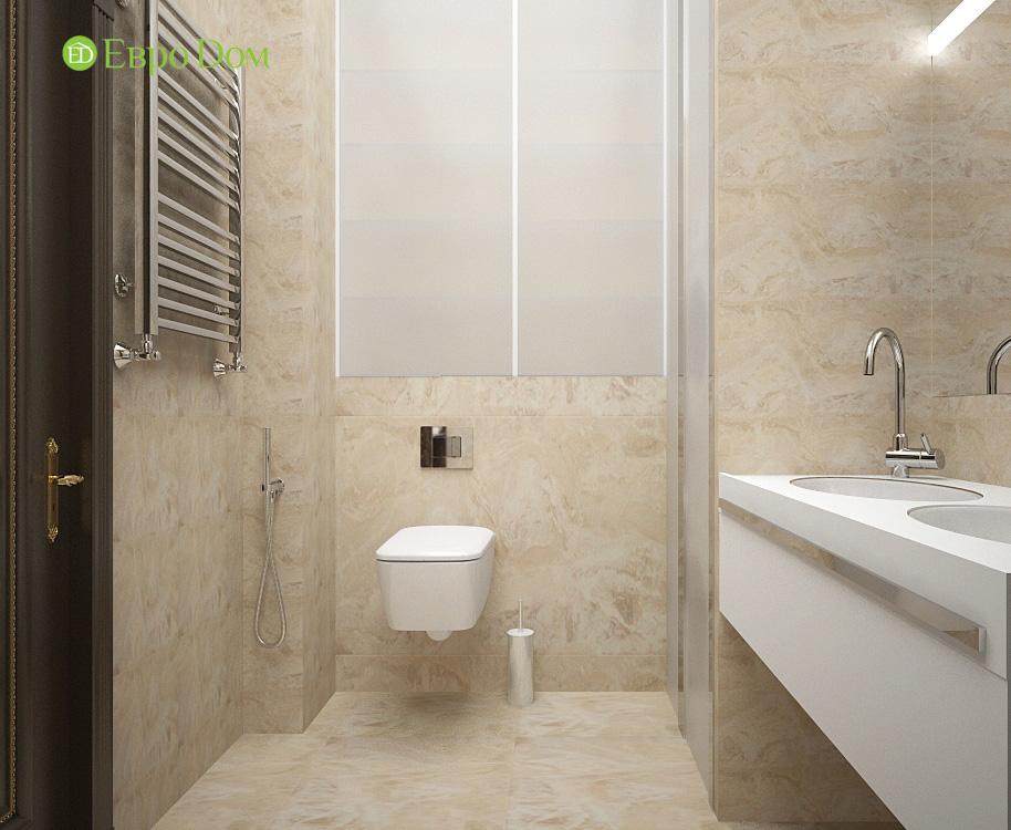 Дизайн 3-комнатной квартиры в современном стиле. Фото 018
