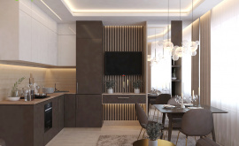 Дизайн интерьера 1-комнатной квартиры 41 кв.м. по адресу г. Красногорск, ул. Истринская, 13А. Фото 4