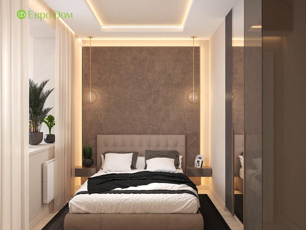 Дизайн 1-комнатной квартиры 41 кв. м в современном стиле. Фото 06