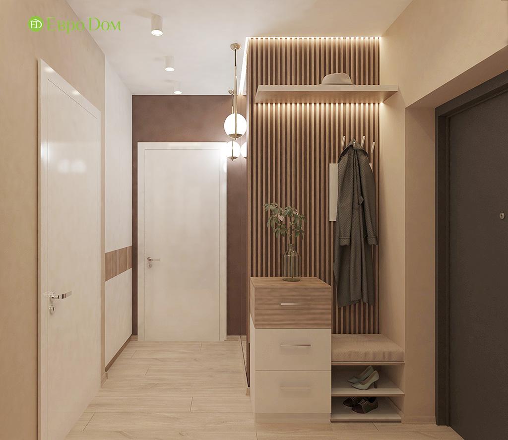 Дизайн 1-комнатной квартиры 41 кв. м в современном стиле. Фото 010
