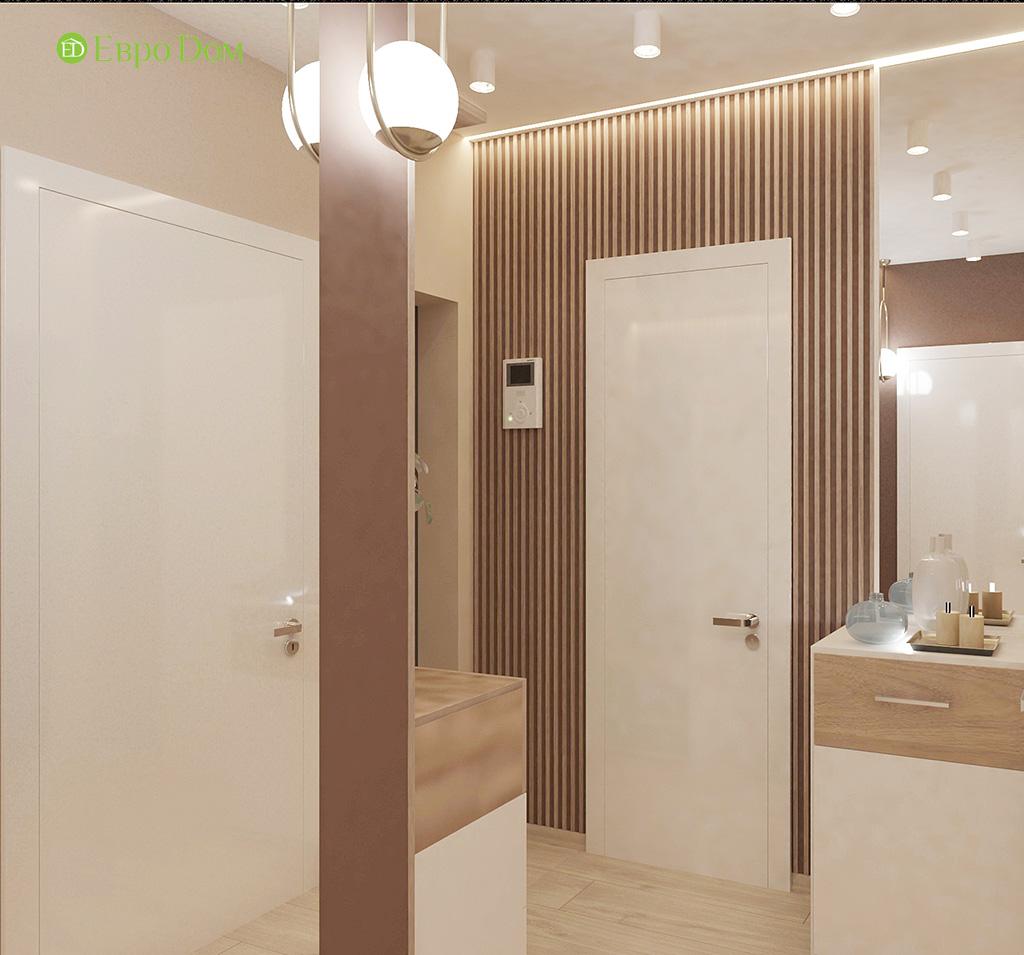 Дизайн 1-комнатной квартиры 41 кв. м в современном стиле. Фото 012