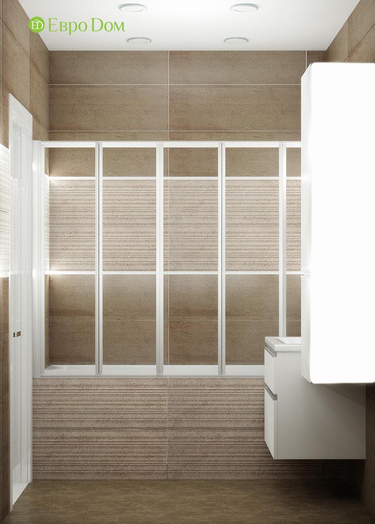 Дизайн 2-комнатной квартиры 52 кв. м в современном стиле. Фото 02